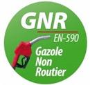 Le GNR : Gazole Non routier