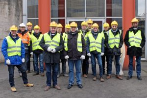 Visite site HAYANGE – British STEEL